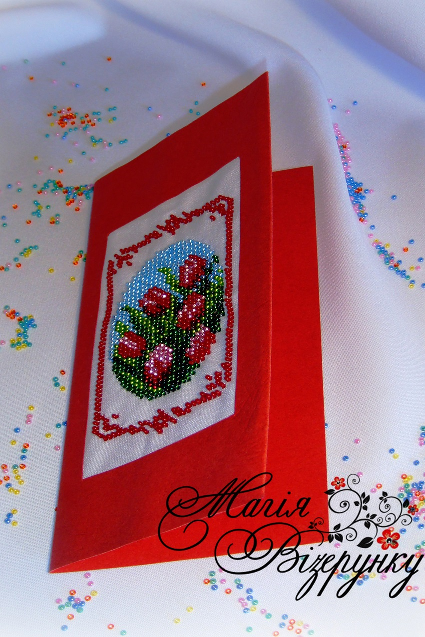 Заготовки на открытки вышивка
