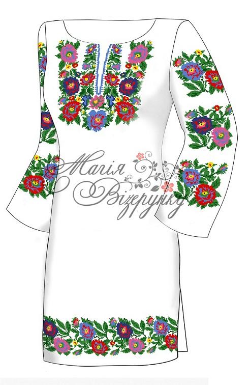 Заготовка для вишивання плаття 73d67f778afe6