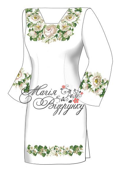 Заготовка платья с длинным рукавом РА - 23 6b2f7cc433467